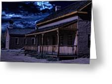 Grafton Ghost Town In Southern Utah Greeting Card