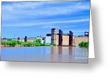 Grain Mills Greeting Card