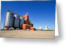 Grain Silos Saskatchewan Greeting Card