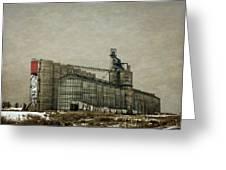 Grain Storage Greeting Card