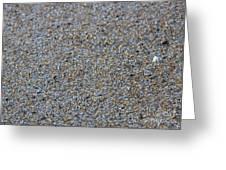 Grainy Sand Greeting Card