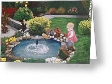 Gramma Nanna S Pond Greeting Card