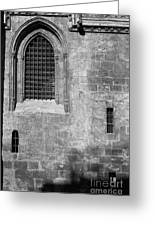 Granada Cathedral Monochrome Greeting Card