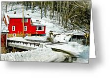 Granby Falls Greeting Card