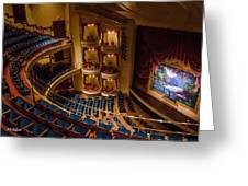 Grand 1894 Opera House - Galveston Greeting Card