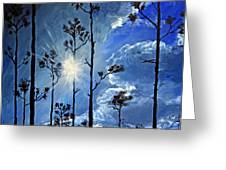 Grand Bahama Forest Greeting Card