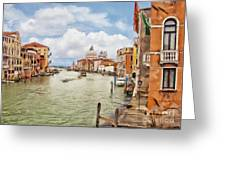 Grand Canal Apartment Greeting Card