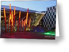 Grand Canal Square Twilight Greeting Card
