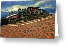 Grand Canyon 29 Railway Greeting Card