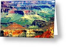 Grand Canyon After Monsoon Rains Greeting Card