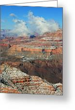 grand Canyon After the Snow Greeting Card