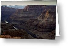Grand Canyon And Colorado River Greeting Card