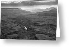 Grand Canyon And Colorado River Greeting Card