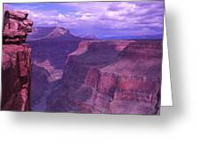 Grand Canyon, Arizona, Usa Greeting Card