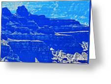 Grand Canyon Blues Greeting Card