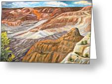 Grand Canyon Greeting Card by Caroline Owen-Doar