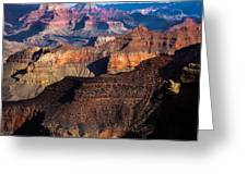 Grand Canyon Colors Greeting Card