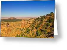 Grand Canyon Desert View Greeting Card