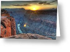Grand Canyon First Light Greeting Card