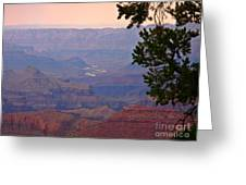 Grand Canyon Landscape One Greeting Card