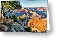 Grand Canyon Ledge Greeting Card