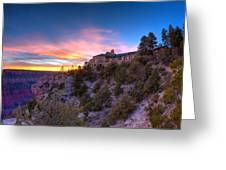 Grand Canyon Lodge Greeting Card