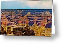 Grand Canyon Mather Viewpoint Greeting Card