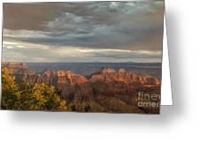 Grand Canyon North Rim Sunset Greeting Card