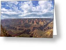 Grand Canyon Np Daytime Panorama Greeting Card