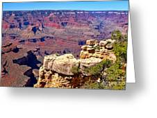 Grand Canyon Of Red By Diana Sainz Greeting Card