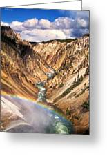 Grand Canyon Of Yellowstone 1 Greeting Card