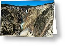 Grand Canyon Of Yellowstone Greeting Card