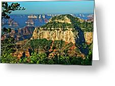 Grand Canyon Peak Angel Point Greeting Card