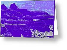 Grand Canyon Purples Greeting Card