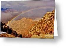 Grand Canyon Rainbow Greeting Card