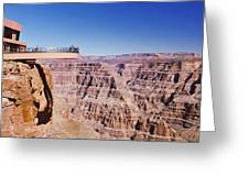 Grand Canyon Skywalk, Eagle Point, West Greeting Card