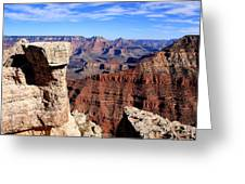 Grand Canyon - South Rim View Greeting Card