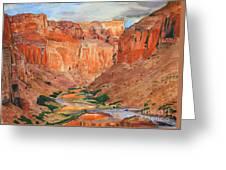 Grand Canyon Splendor Greeting Card