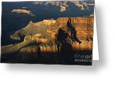 Grand Canyon Symphony Of Light And Shadow Greeting Card