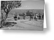 Grand Canyon Tourism Greeting Card
