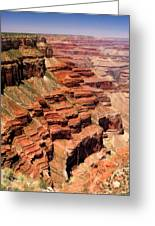 Grand Canyon Valley Depths Greeting Card
