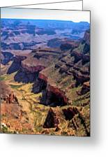 Grand Canyon Valley Trail Greeting Card