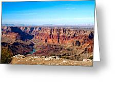 Grand Canyon Vast View Greeting Card