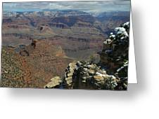 Grand Canyon View 6 Greeting Card