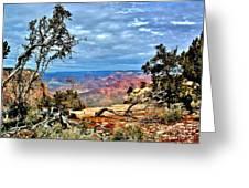 Grand Canyon View IIi Greeting Card