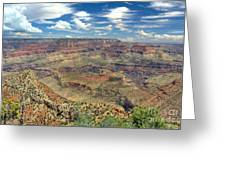Grand Canyon View Greeting Card by John Kelly