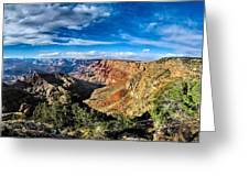 Grand Canyon Xxi Greeting Card