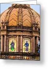 Grand Cathedral Of Guadalajara Greeting Card