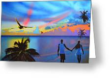 Grand Cayman Islanders Greeting Card