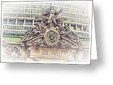 Grand Central Decor Greeting Card